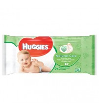 Huggies Baby Wipes Natural Care 56 Pieces