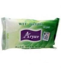 Aryuv Aloe Vera Wipes 10 Pieces