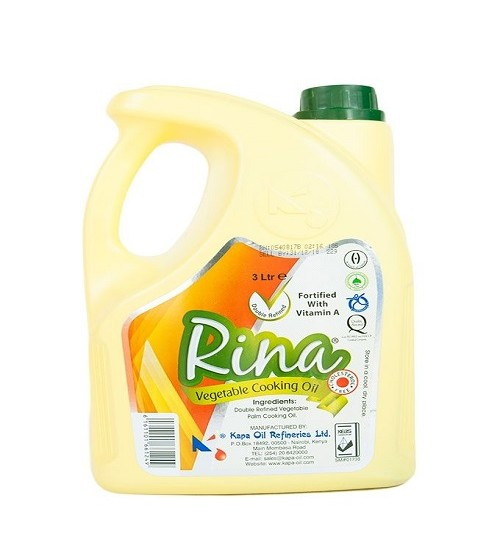 Rina Vegetable Oil 3L