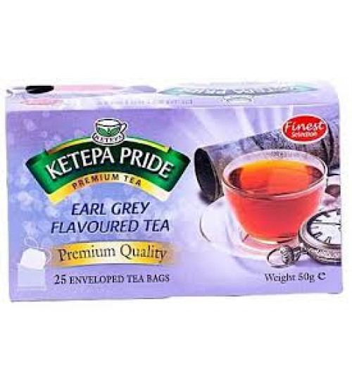 Ketepa Pride Earl Grey Flavoured Tea 50g 25 Bags