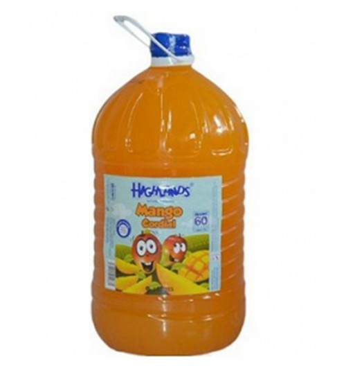 Highlands Mango Cordial 3L