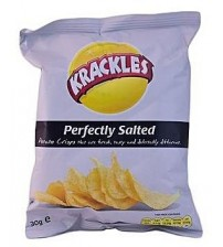Krackles Perfectly Salted Potato Crisps 150g