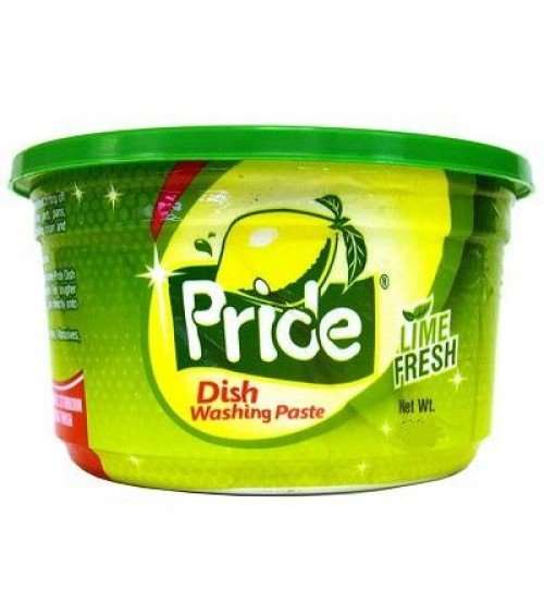 Pride Dish Washing Paste Lime 800g