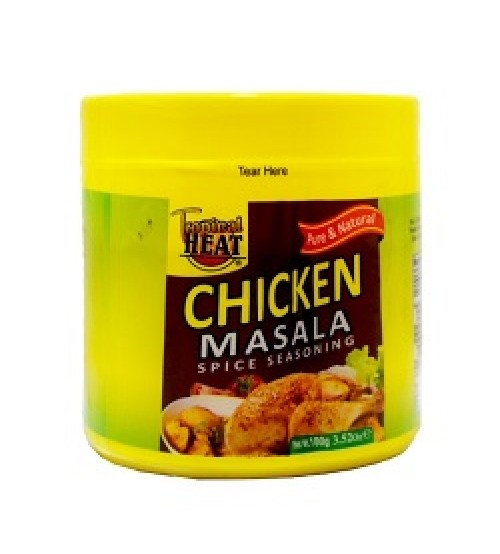 Tropical Heat Chicken Masala Jar 100g