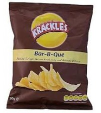 Krackles Bar-B-Que Potato Crisps 150g