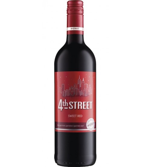 4Th Street Red Sweet Wine 750ml