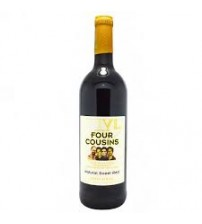 Four Cousins Sweet Red Wine 750ml
