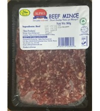 Alpha Beef Mince -Economy Pack (500g)