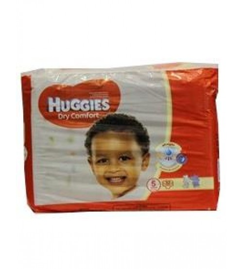 Huggies Dry Comfort Diapers Size 5 12-22Kg 32 Pieces