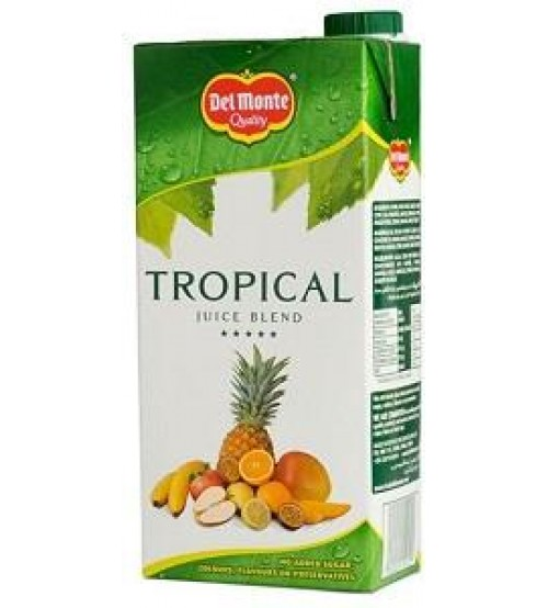 Del Monte Tropical Juice Blend 1L