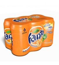 Fanta 330ml 6 Pack