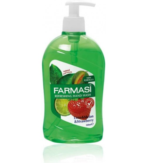 Farmasi Hand Wash Lime, Watermelon and Strawberry 500ml