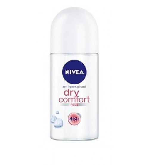 Nivea Antiperspirant Roll On Deo Dry Comfort Plus 50ml