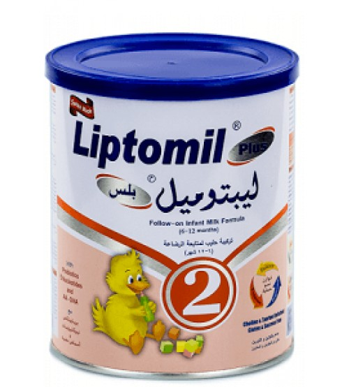 Liptomil Plus 2 Follow On Infant Formula 6-12 Months 400g