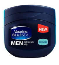 Vaseline Blue Seal Petroleum Jelly for Men Cooling 100g