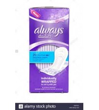 Always Everyday Pantyliners Fresh& Protect Normal 20 Pieces