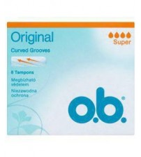 o.b Tampons Super 8 Pieces