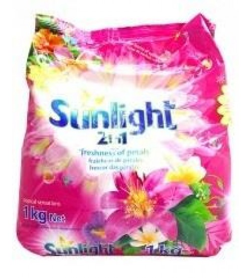 Sunlight 2in1 Hand Washing Powder Tropical Sensations 1Kg