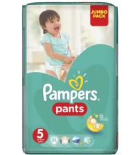Pampers Baby Diaper Pants Size 5 Jumbo Junior 52s