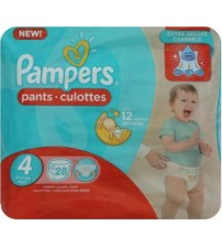 Pampers Baby Diaper Pants Size 4 Maxi 28s