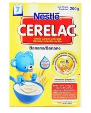Nestle Cerelac Banana with Milk  7 Months+ 400g