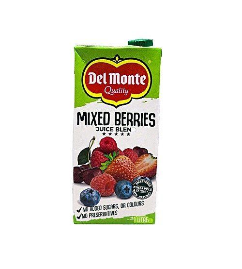 Del Monte Mixed Berries Juice Blend 1L