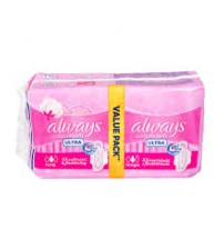 Always Ultra Cotton Soft 16 Pieces (Value Pack)