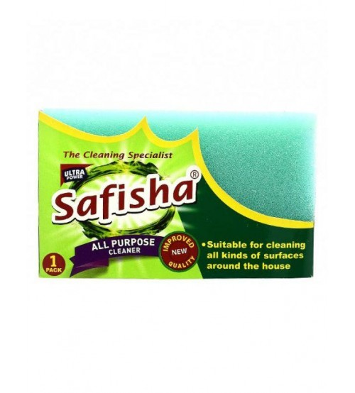 Safisha Scouring Pad with Sponge 1 Piece