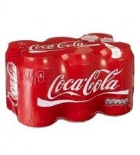 Coca Cola 330ml 6 Pack