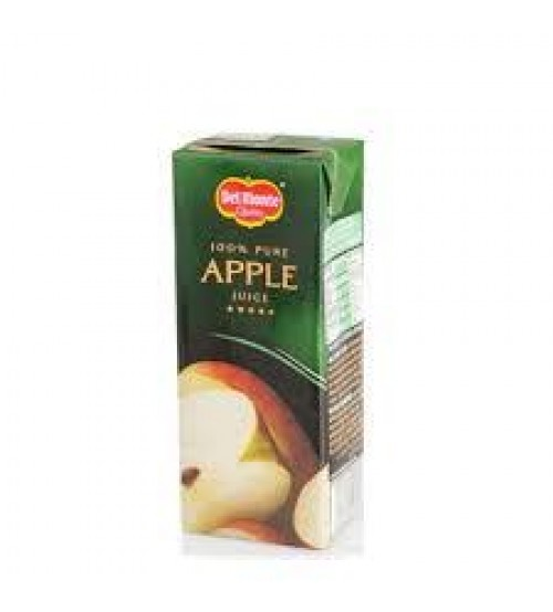 Del Monte 100 Percent Pure Apple Juice 1L