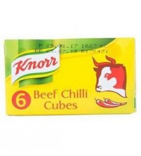 Knorr Beef Chilli Cubes 51g