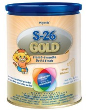 S-26 Pro Gold Stage 1 Premium Infant Formula 400g