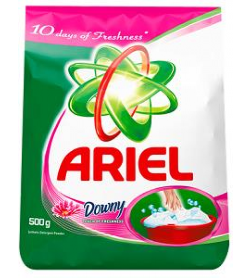 Ariel Touch of Downy Detergent 500g
